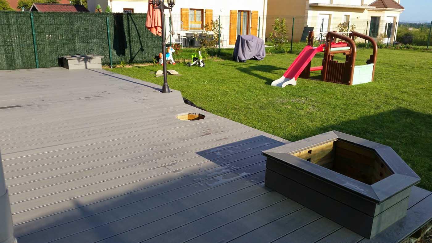 Terrasses composite essonne artibois91 for Avis terrasse bois composite