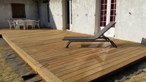 terrasse en IPE du brésil