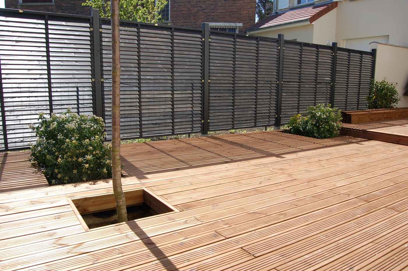 Jardin Sur Une Terrasse terrasses bois essonne - artibois91