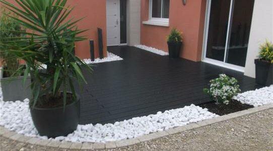Terrasse composite noir essonne