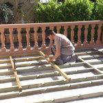 terrasses bois assemblage articadre etape 2